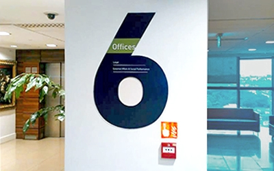 Indoor Office Branding